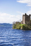Grand Tower of Urquhart Castle in Loch Ness in Scotland Stock Image