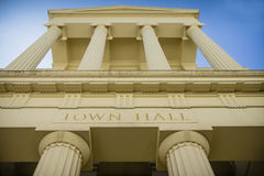 Grand town hall Royalty Free Stock Photos