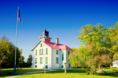 Grand Traverse Lighthouse Stock Images