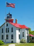 Grand Traverse Lighthouse Stock Image