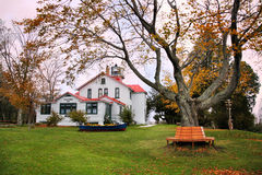 Grand Traverse Lighthouse Grounds Royalty Free Stock Photography