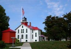 Grand Traverse Lighthouse Horizontal Royalty Free Stock Photos