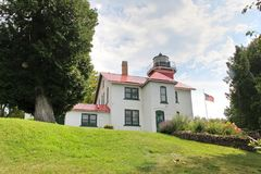 Grand Traverse Lighthouse Royalty Free Stock Images