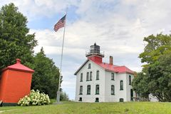 Grand Traverse Lighthouse Royalty Free Stock Image