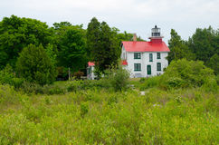 Grand Traverse Lighthouse, Michigan Royalty Free Stock Photography