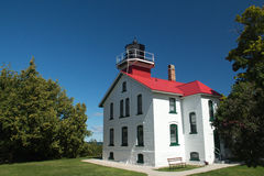 Grand Traverse Lighthouse Stock Photography