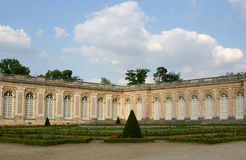 The Grand Trianon, Versailles. Gardens at the Grand Trianon, Versailles royalty free stock photography