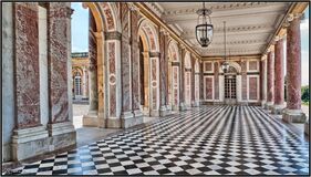The Grand Trianon, Versailles Royalty Free Stock Images