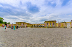 Grand Trianon in Versailles Palace near Paris Royalty Free Stock Image