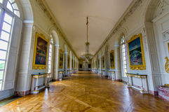 Grand Trianon in Versailles Palace near Paris Stock Image