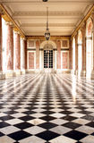 The Grand Trianon - Versailles. The Grand Trianon was built in the northwestern part of the Domain of Versailles at the request of Louis XIV, as a retreat for Royalty Free Stock Photography