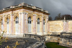 The Grand Trianon - Versailles. The Grand Trianon was built in the northwestern part of the Domain of Versailles at the request of Louis XIV, as a retreat for Royalty Free Stock Image