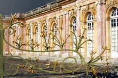 The Grand Trianon - Versailles. The Grand Trianon was built in the northwestern part of the Domain of Versailles at the request of Louis XIV, as a retreat for Royalty Free Stock Photo