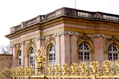 Grand Trianon Palace - Versailles. The Grand Trianon was built in the northwestern part of the Domain of Versailles at the request of Louis XIV, as a retreat for stock photos