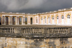 The Grand Trianon - Versailles. The Grand Trianon was built in the northwestern part of the Domain of Versailles at the request of Louis XIV, as a retreat for Stock Image