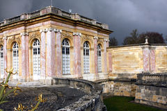 The Grand Trianon - Versailles. The Grand Trianon was built in the northwestern part of the Domain of Versailles at the request of Louis XIV, as a retreat for Stock Images