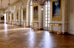 The Grand Trianon - Versailles. The Grand Trianon was built in the northwestern part of the Domain of Versailles at the request of Louis XIV, as a retreat for Royalty Free Stock Images