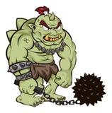 Grand troll illustration de vecteur