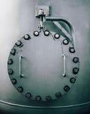 Grand trou d'homme en acier Photographie stock libre de droits