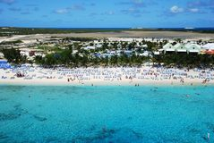 Grand Turk Beach Stock Photography