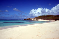 Grand turk beach. The carabbean beach of gibs cay at grand turk island Stock Photography