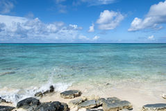 Grand Turk Beach Royalty Free Stock Image