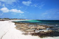 Grand Turk Beaches Royalty Free Stock Images