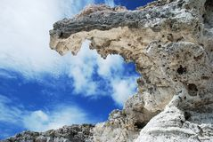 Grand Turk Cliff Royalty Free Stock Photos