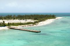 Grand Turk Island Landscape royalty free stock image
