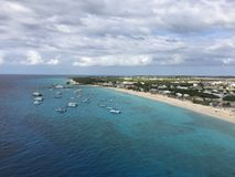Grand Turk Island in the Turks and Caicos Islands. In the Caribbean Royalty Free Stock Photos
