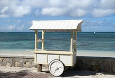 Grand Turk Island Vendor`s Stall Stock Photo