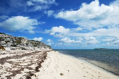 Grand Turk Landscape Royalty Free Stock Photography