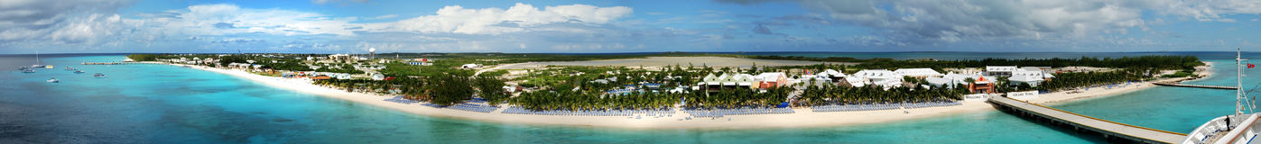 Grand Turk Panorama Stock Photo