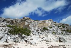 Grand Turk Rocks Stock Photography