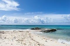Grand Turk Shell Beach Royalty Free Stock Photo