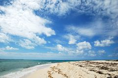 Grand Turk Sky Royalty Free Stock Photo
