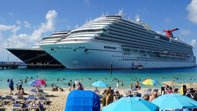 Grand Turk in the Turks and Caicos Islands Stock Photo