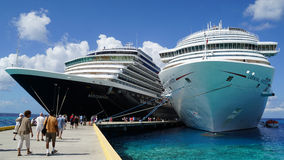 Grand Turk in the Turks and Caicos Islands Stock Image