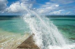 Free Grand Turk Waves Royalty Free Stock Photos - 89778208