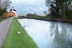 Grand union canal Royalty Free Stock Images