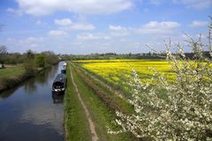 The Grand Union canal Royalty Free Stock Image