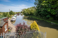 Grand Union canal Stock Image