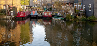 Grand Union Canal Inlet. Stock Images