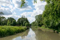 Grand Union Canal, Northamptonshire, Uk Royalty Free Stock Photography