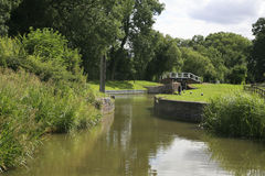 Grand Union canal Royalty Free Stock Image