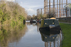 Grand Union Canal. Royalty Free Stock Photo