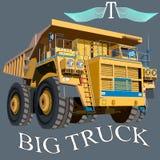 Grand véhicule illustration de vecteur