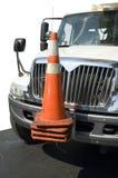 Grand véhicule de camion de travail Images stock