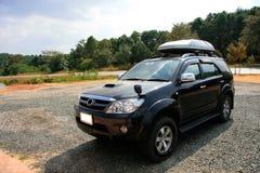 Grand véhicule personnalisé extérieur photo libre de droits
