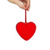 grand valentine de coeur Photos stock
